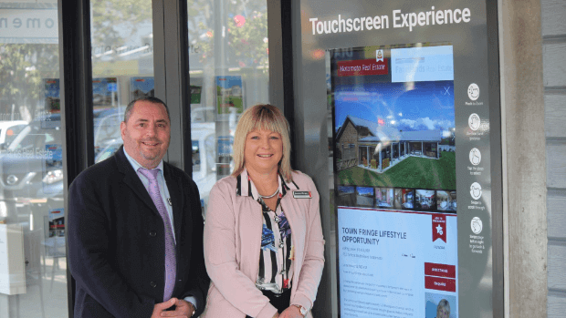 Matamata Real Estate Touch Window