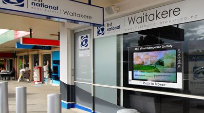 Digital signage leading the way in real estate
