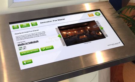 Kiosk Technology within the Scenic Hotel Group